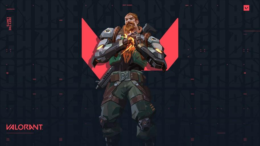 Breach, Valorant, Game, 4K, #5.2373