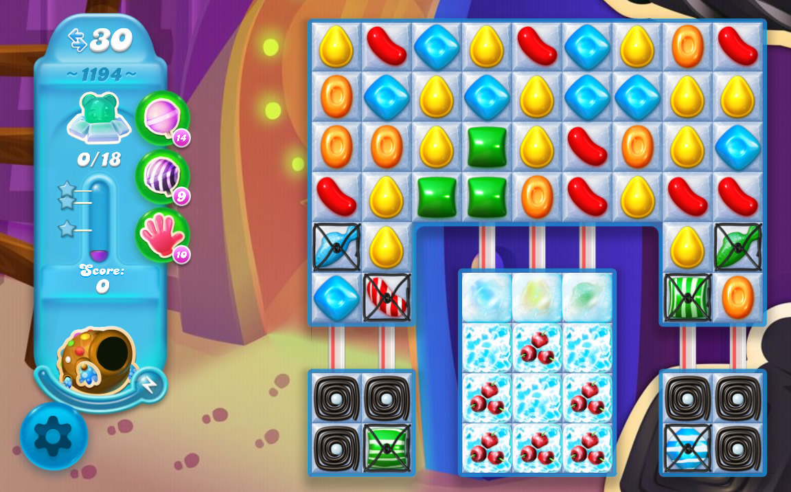 Candy Crush Soda Saga level 1209