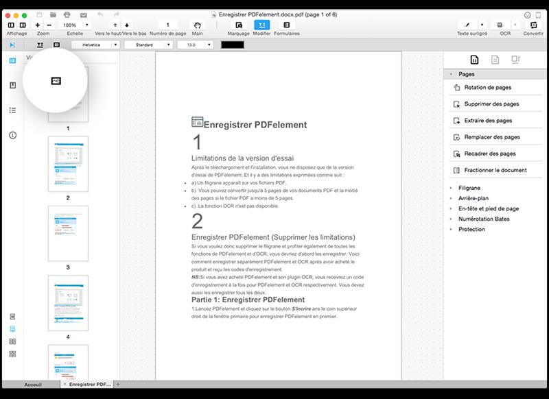 ins u00e9rer une image dans un pdf mac