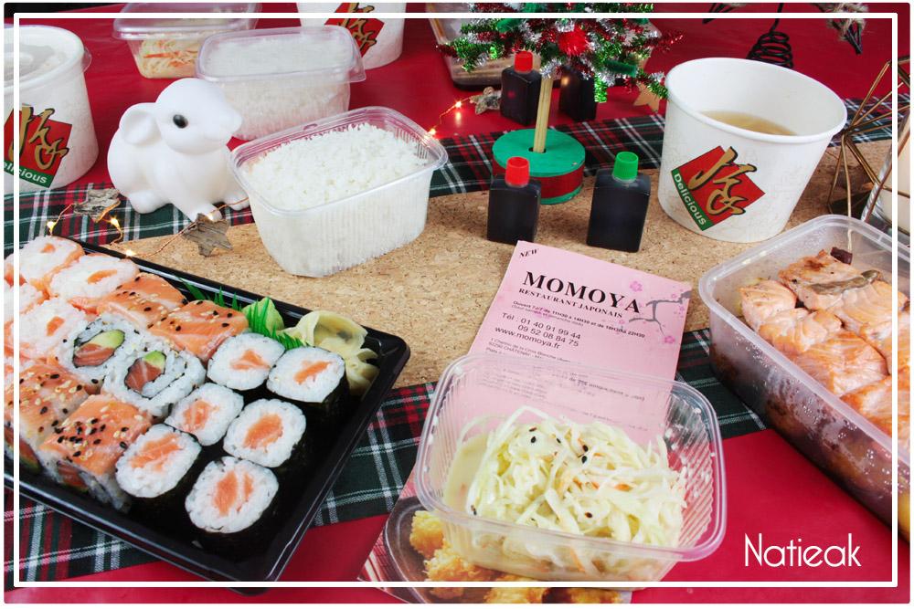 Livraison sushis & japonais