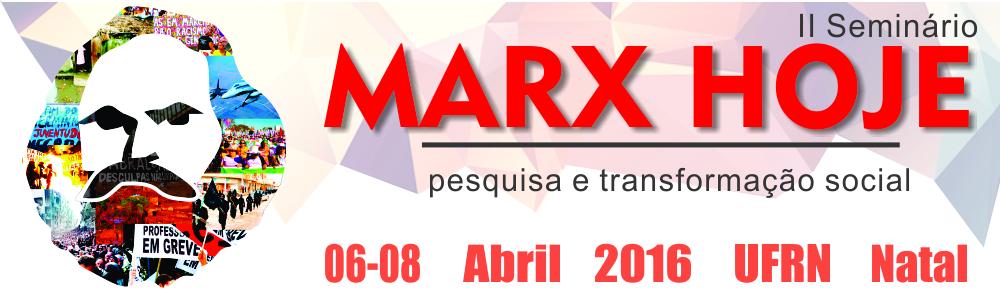 I Seminário Marx Hoje: pesquisa e transformação social