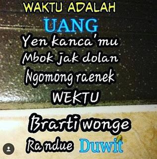Gambar Kata Kata Lucu Banget Bahasa Jawa