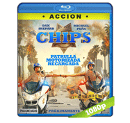 Chips: Patrulla Motorizada Recargada (2017) Full HD BRRip 1080p Audio Dual Latino/Ingles 5.1