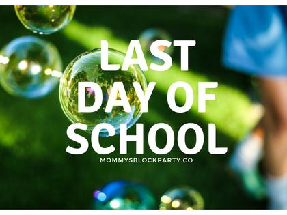 Last Days of School!- Wordless Wednesday