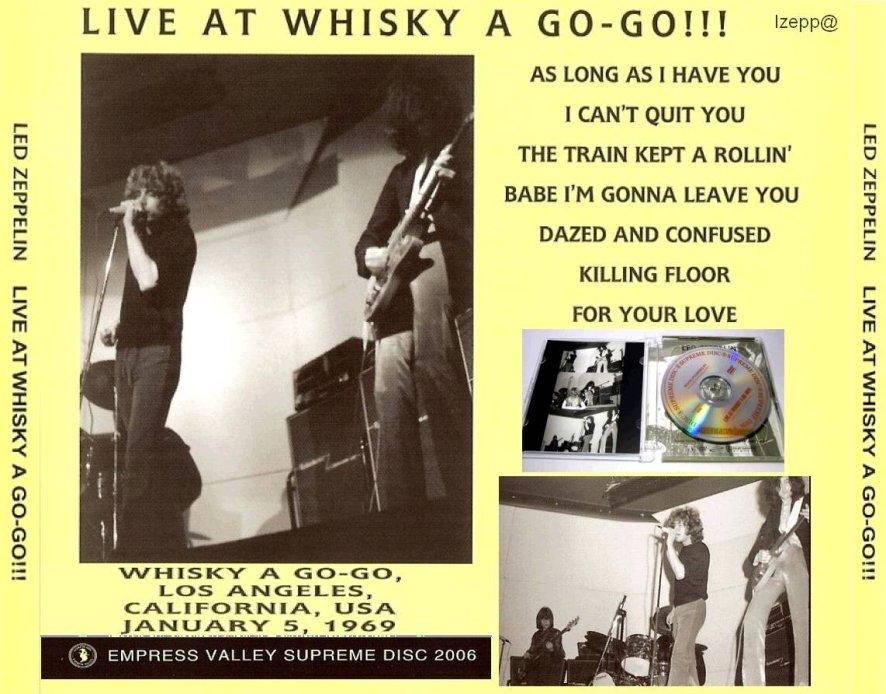 Long Live Led Zeppelin: 1969.01.05 Led Zeppelin Live At ...
