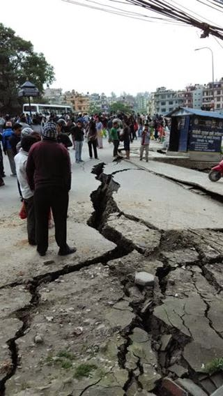 7.5 m Earthquake Nepal 25th april 2015