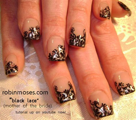 Top 93+ Elegant Black Nail Art Designs