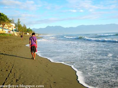 Surfing at Sabang Beach, Baler