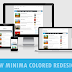 New Minima Colored Redesign Responsive