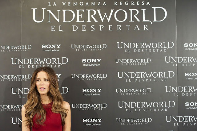 Kate Beckinsale at Underworld Awakening Photocall in Madrid