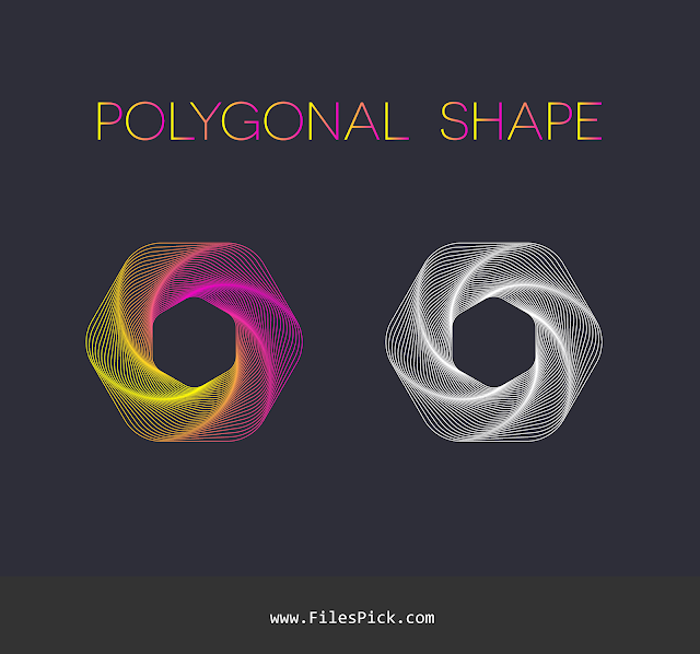 polygonal shape vector