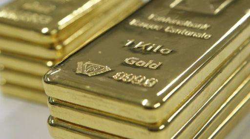 Futuros del oro bajan