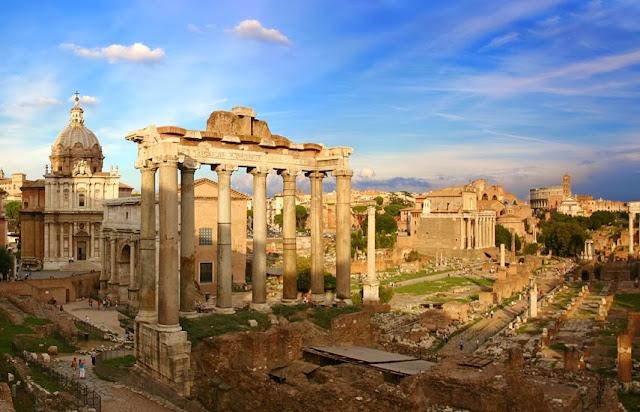 Fórum Romano em Roma - Itália