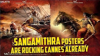 Sangamithra Posters are Rocking Cannes Already