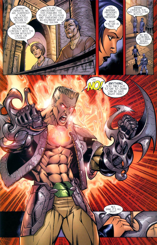 Read online Sigil (2000) comic -  Issue #8 - 17