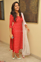 Anusuya in Red at Kalamandir Foundation 7th anniversary Celebrations ~  Actress Galleries 048.JPG