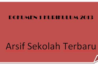 Dokumen 1 Kurikulum 2013 SMA/MA/SMK Terbaru Tahun 2018