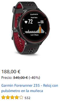 Reloj GPS - Cyber Monday