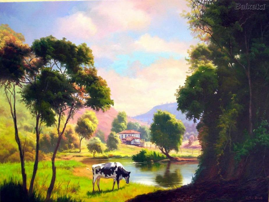 cuadros-con-vacas-paisajes