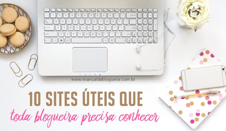 sites úteis para blogueiras