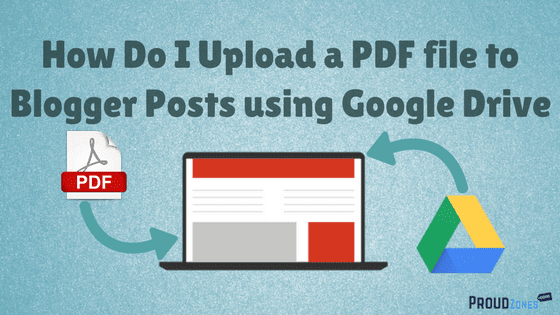 upload pdf files to blogger
