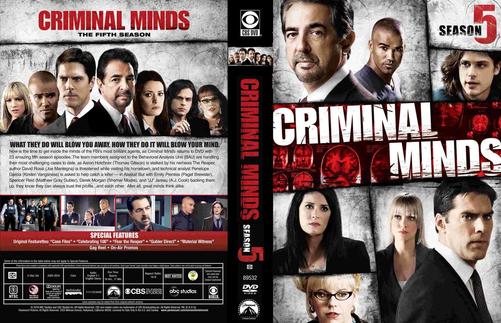 Criminal minds dvds / Chandler az outlets