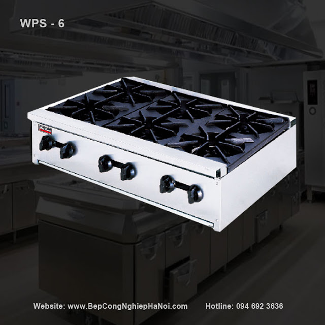 Bếp âu 6 kiềng WPS - 6