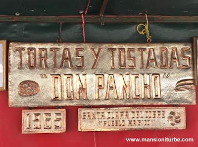 Tortas de Tostada of Santa Clara del Cobre, Michoacán
