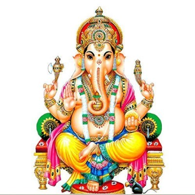Hindu God image of lambodara bhagwan ganesh avatar