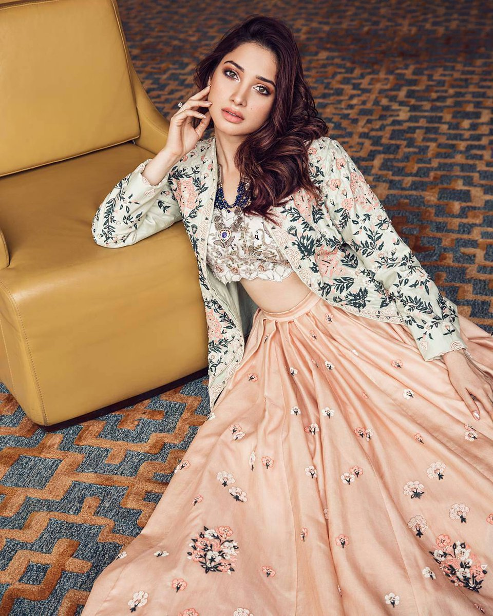 Actress Tamannaah Poses for Aza Fashion Magazine September 2017