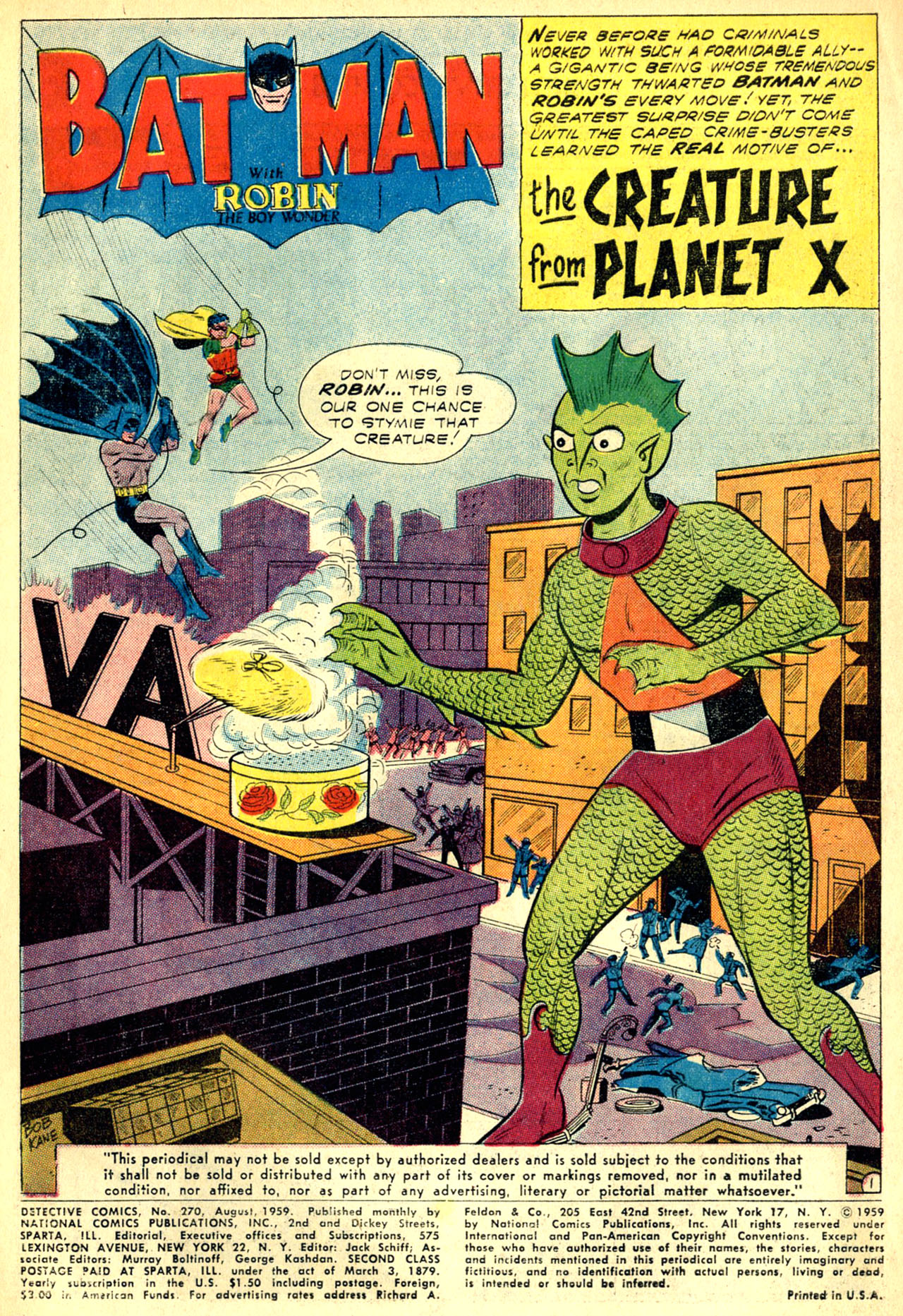 Read online Detective Comics (1937) comic -  Issue #270 - 3