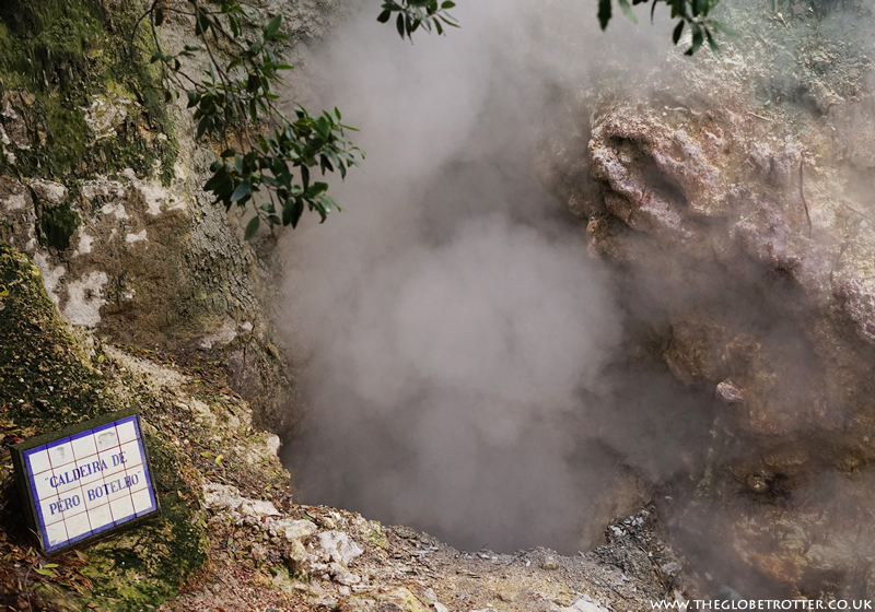 Volcanic Complex of Geothermal Springs in Furnas, Azores
