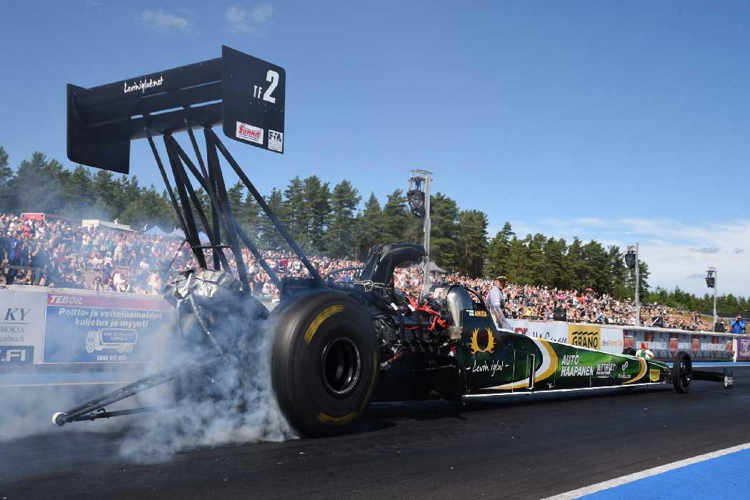Anita Mäkelä the fastest FIA Top Fuel drag racer, car news