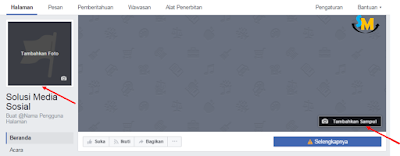 tampilan halaman facebook