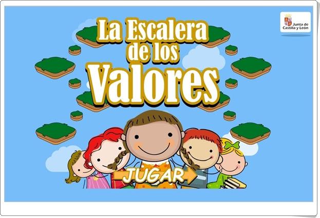 """""""La Escalera de los Valores"""" (Convivencia en Educación Infantil)"""