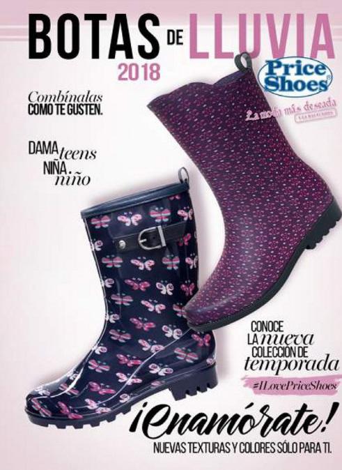 c9c707dc50 Catalogo de botas de lluvia Price shoes 2018