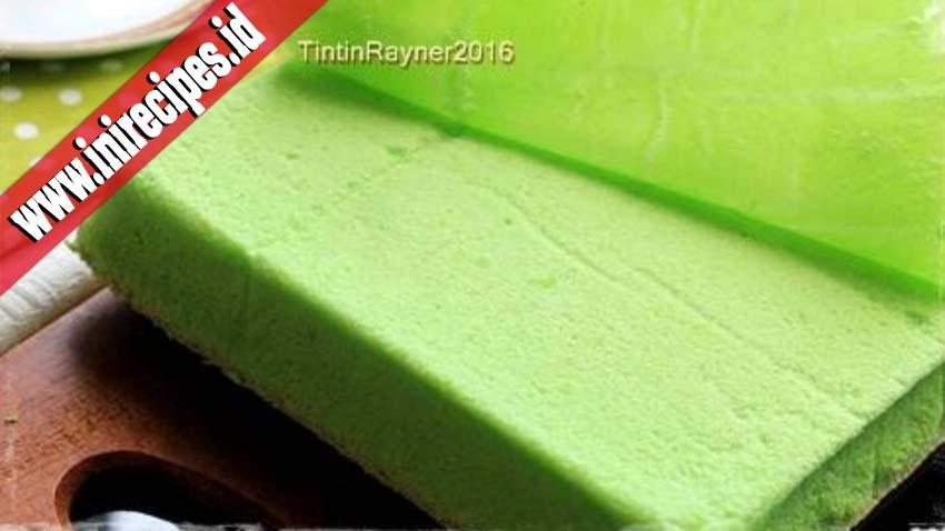 Resep Ogura Cake Pandan Super Soft Moist Yang Wajib Bunda Coba