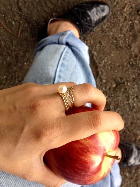 リングとりんご