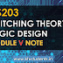 CS203 Switching Theory and Logic Design Module-5 Note