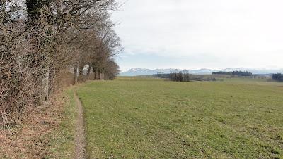 Landschaft ob Zell