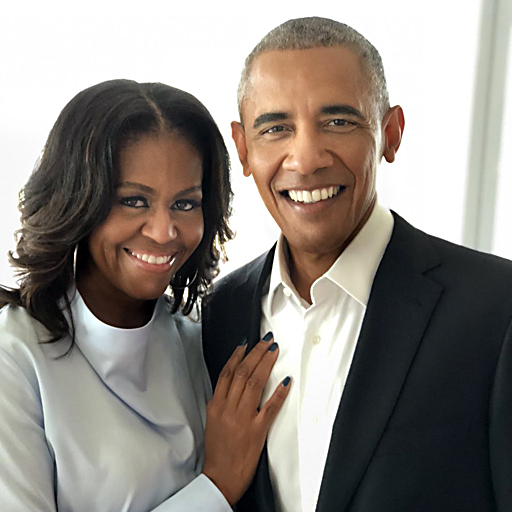 """Michelle and Barack Obama named """"Most Admired"""" in America"""