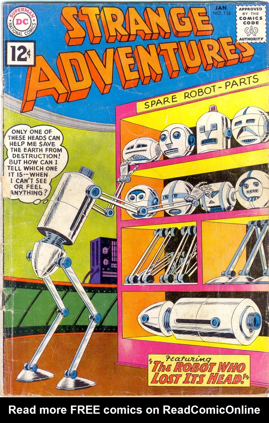 Strange Adventures (1950) issue 136 - Page 1