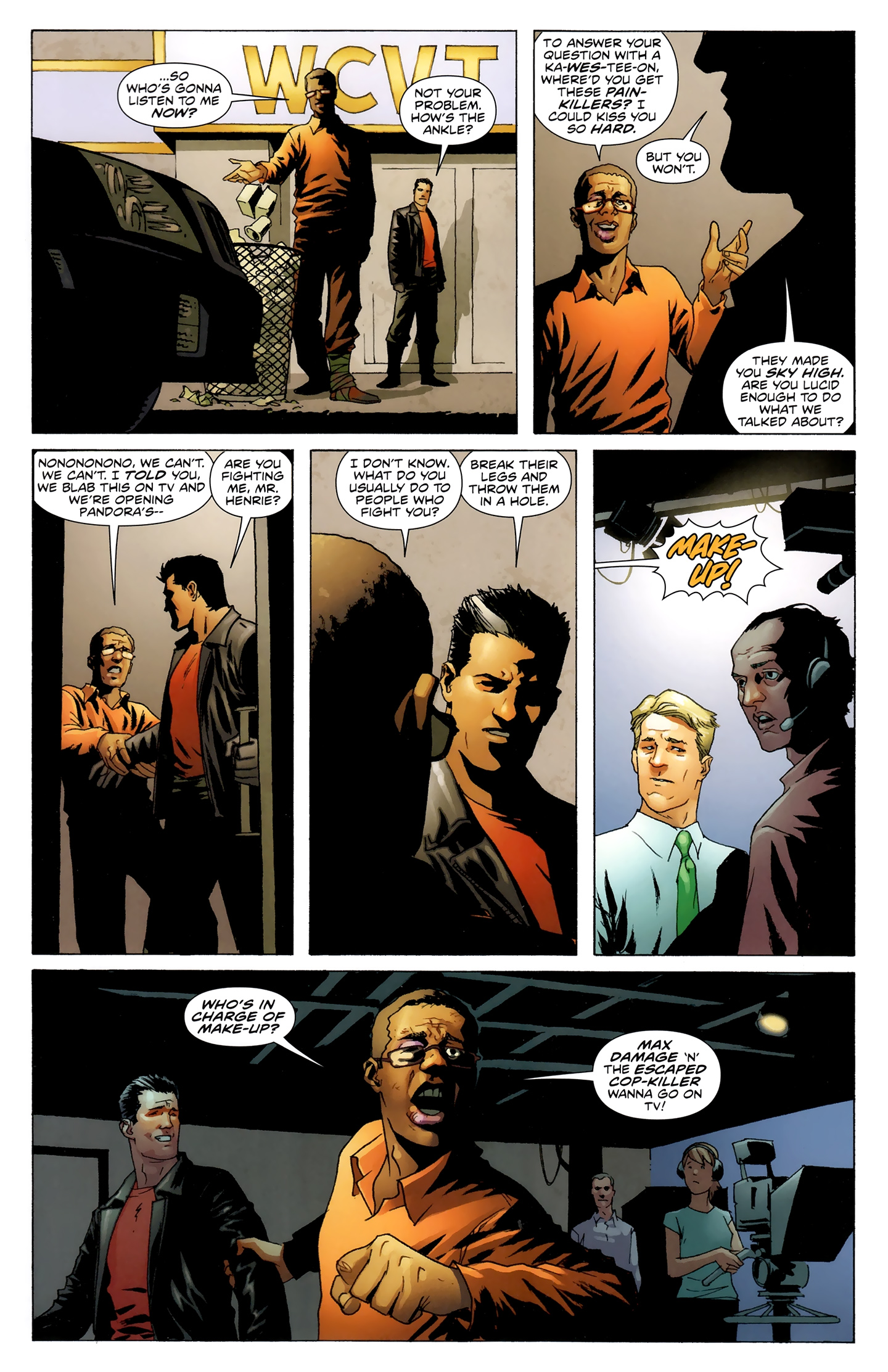 Read online Incorruptible comic -  Issue #28 - 18
