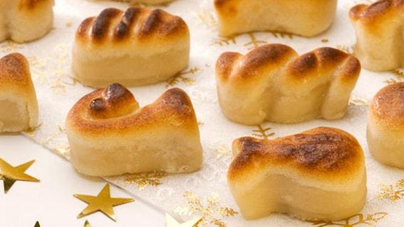 Mazapan. Dulce tipico navideño. España