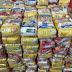 """Polícia Civil entrega 2,2 toneladas de alimentos arrecadados na campanha beneficente """"Alimente uma Vida"""""""