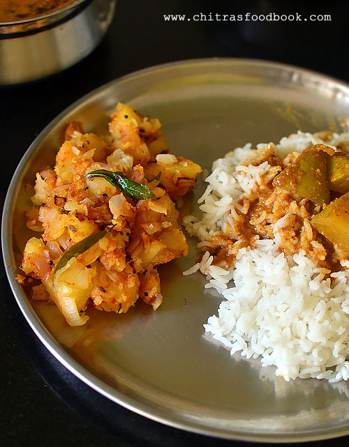 Alugadde Palya Recipe For Rice