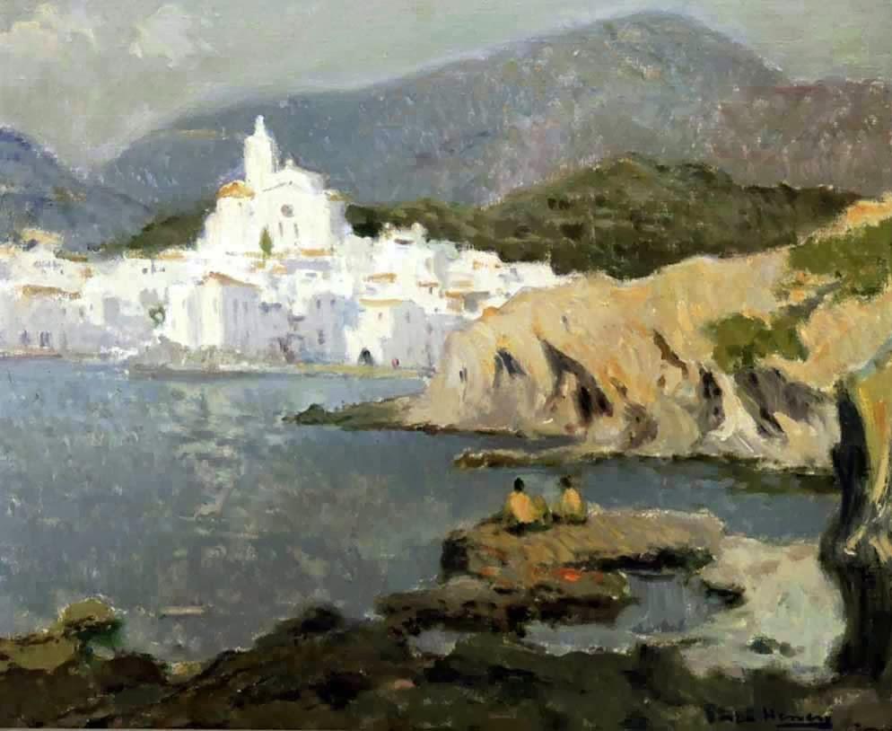 Paintings of Cadaqus Antoni Sala Herrero