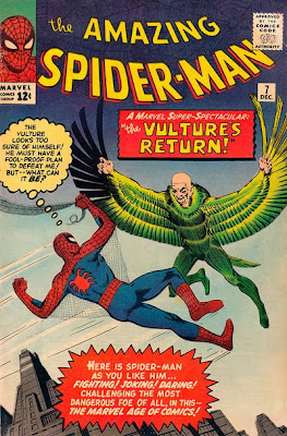 Amazing Spider-Man #7, The Vulture returns