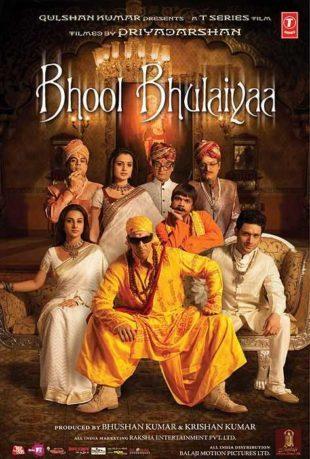 Bhool Bhulaiyaa 2007 Full Hindi Movie Download BRRip 720p