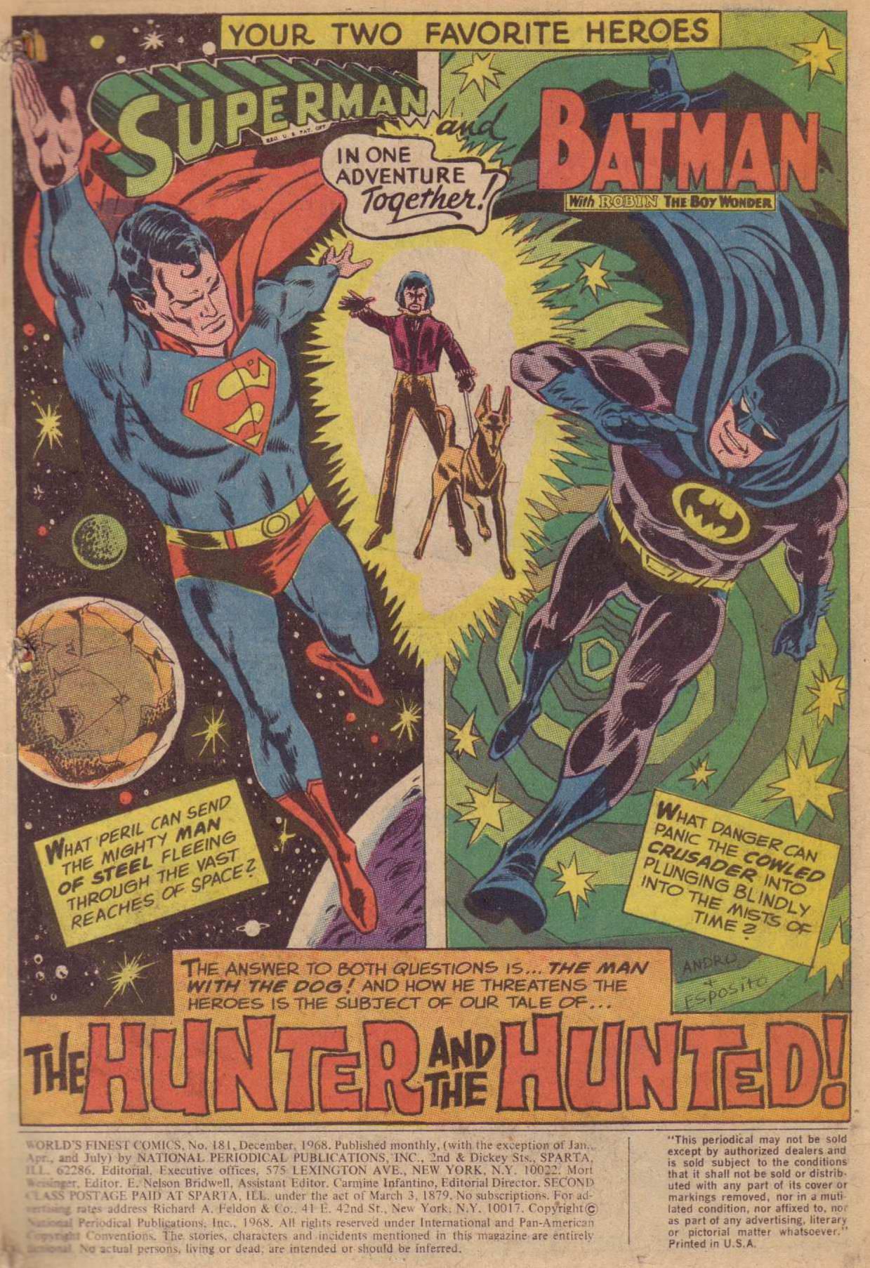 Read online World's Finest Comics comic -  Issue #181 - 2